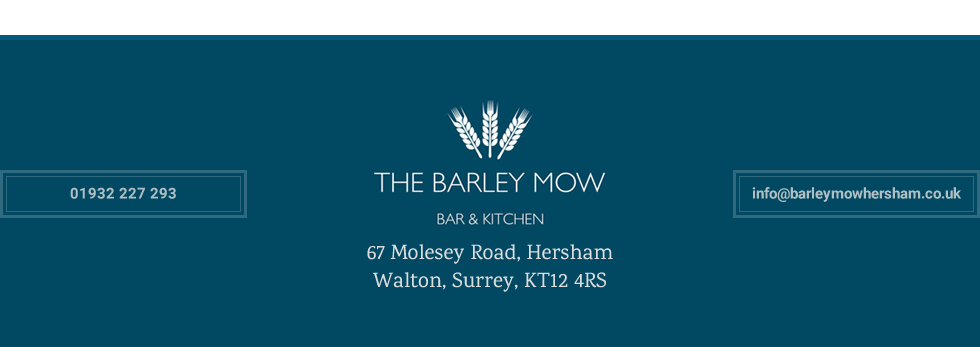 Thanks for visiting Barley Mow